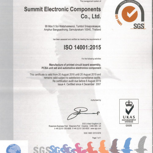 Sec Certificate ISO 14001 2015 Page 1 (3)