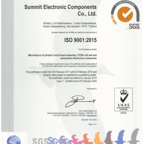 Sec Certificate ISO 9001 2017 Page 1 (1)